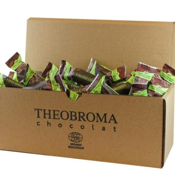 60% Dark Chocolate Mini-Sticks with Espresso, Box of 75